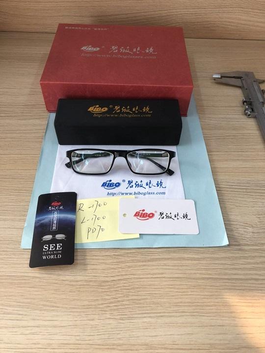 近视1700度(大瞳距、大脸型、大框架)可以做超薄眼镜吗?